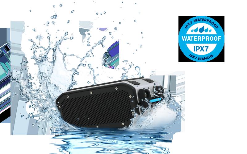 BRV-PRO đạt chứng chỉnh chống nước IPX7