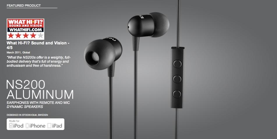 """Củ loa - driver của tai nghe là loại """"dynamic"""" kích thước 8mm, độ nhạy 95dB SPL@1kHz, trở kháng 16Ohm, dải tần 20Hz-20kHz với """"housing"""" vỏ chứa màng loa bằng nhôm Aluminum, dây tín hiệu dài 1,2m với chất liệu Kevlar cho độ bền tốt hơn nhiều lần so với dây dẫn thông thường."""