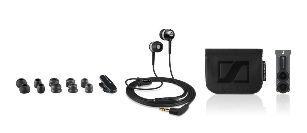 Tai nghe Sennheiser CX 400 II đem đến 1 chất âm cân bằng chi tiết và tự nhiên