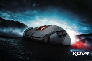 Chuột Roccat Kova mới có thiết kế đẹp như một chiếc xe thể thao
