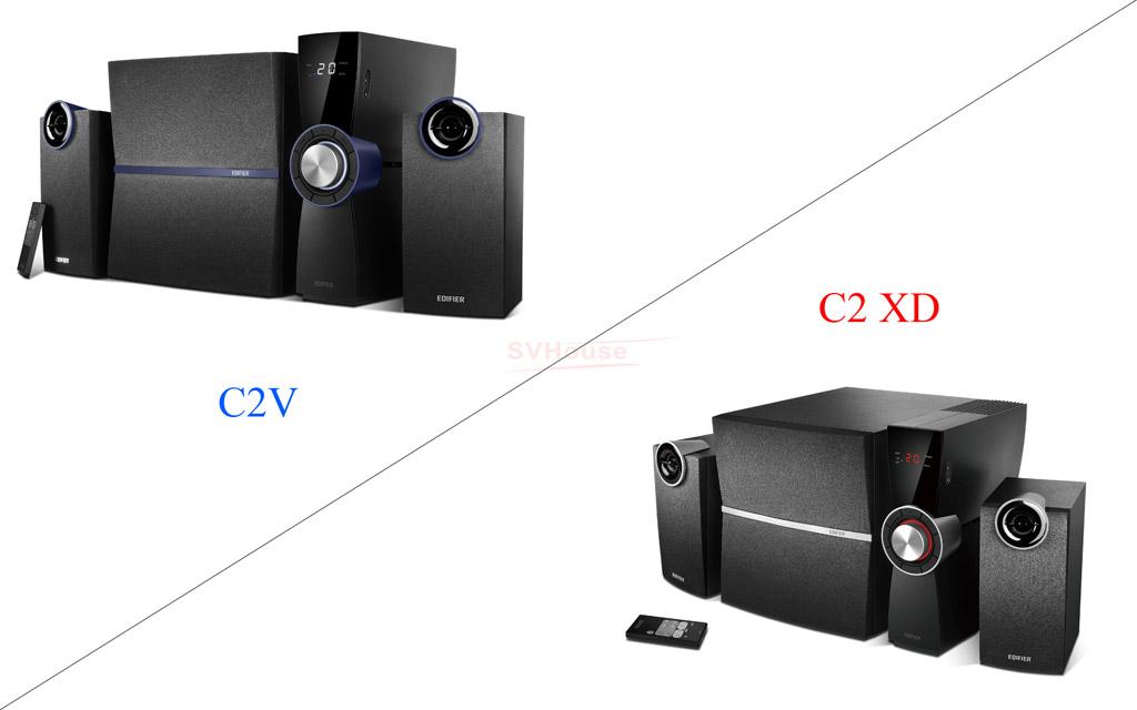 Edifier C2V và Edifier C2XD
