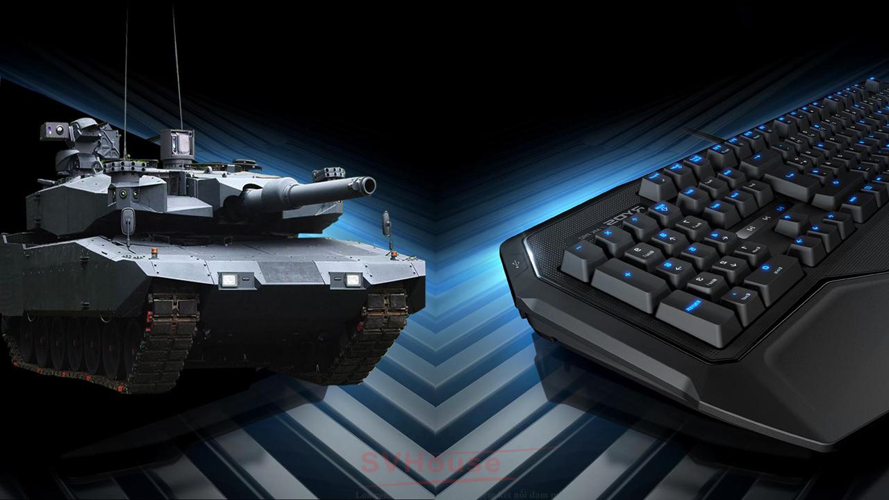 Ryos MK Glow được ví như một chiếc xe tăng Leopard 2A4 Evolution