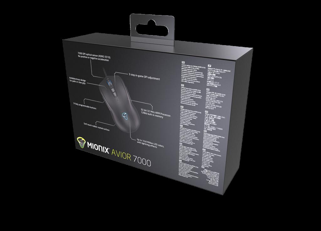 Mặt sau vỏ hộp sản phẩm với các thông số kỹ thuật nổi bật của sản phẩm