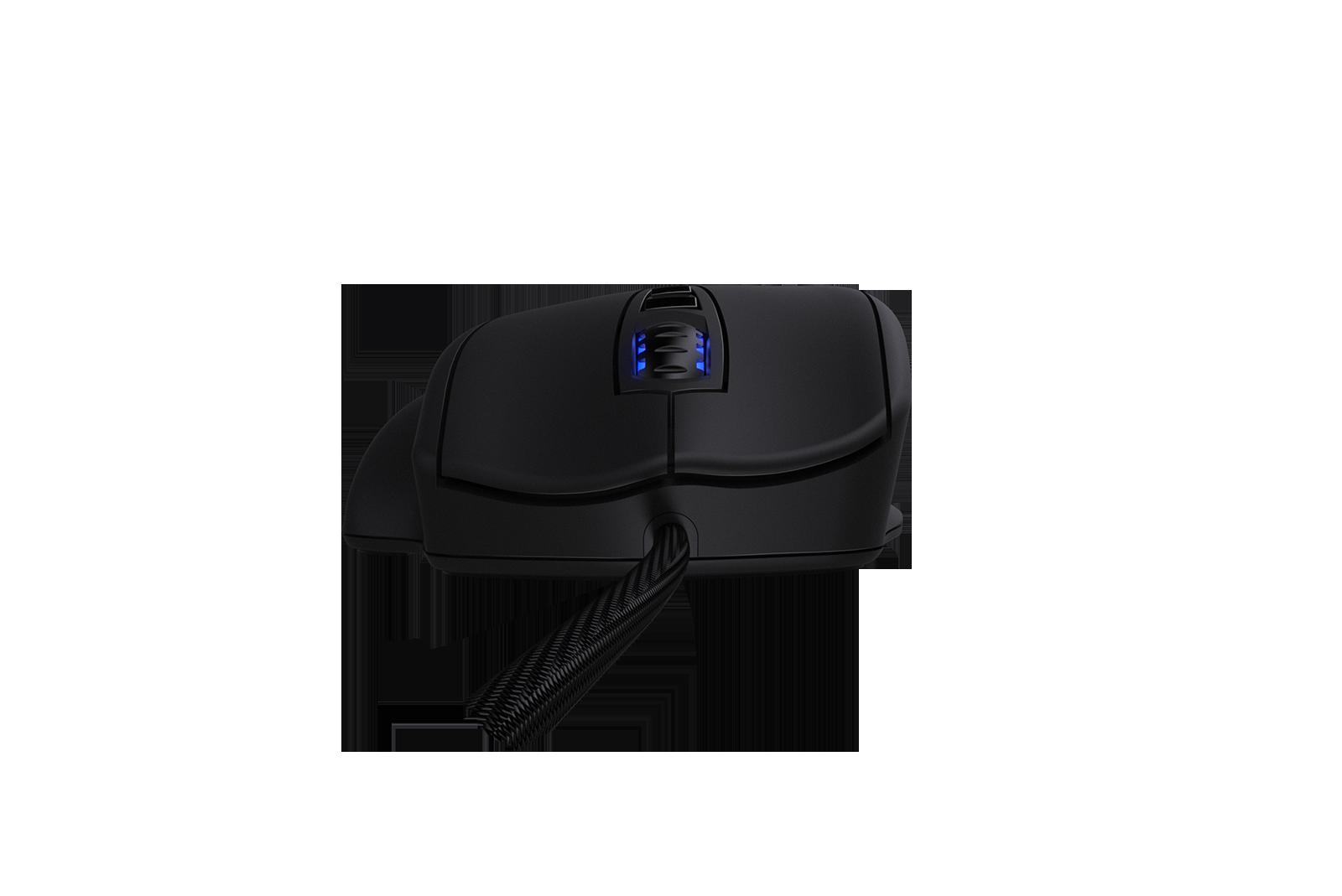 Scroll mouse với các khớ nhỏ giúp việc cuộn được chính xác và không bị trơn