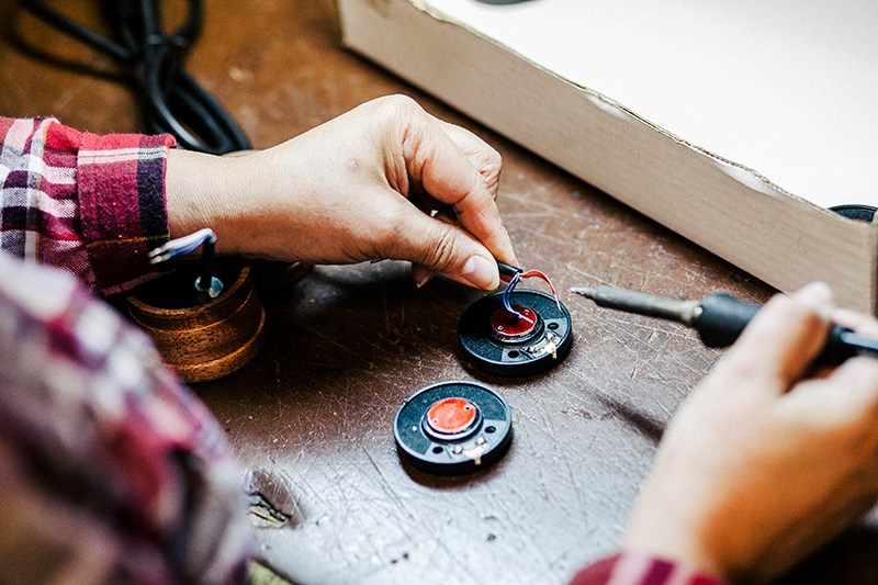 Grado Labs Toys and Tools Photo Essay Headphone Production