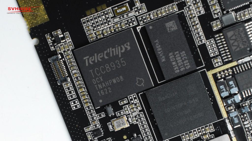 Telechips dùng để chạy hệ điều hành android tối giản luôn được Astell&Kern tin dùng vì độ ổn định cũng như hiệu năng tốt.