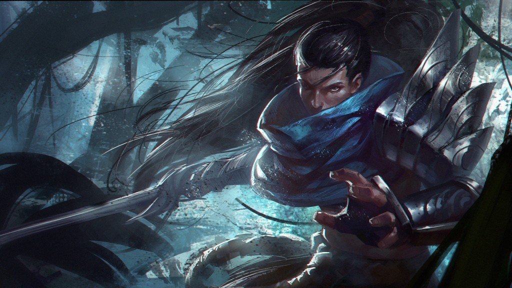 Yasuo-Fan-Art-By-X.Four_