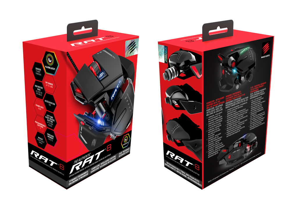 RAT 8 Packaging