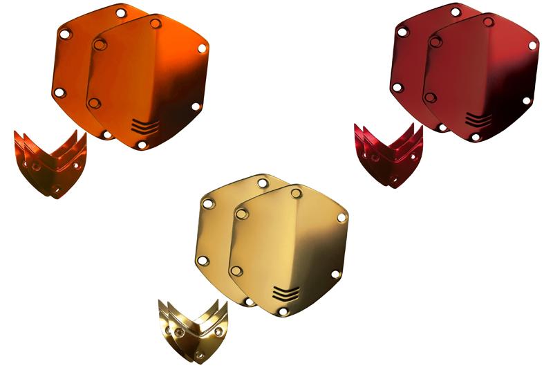 Cặp khiên Shield nhiều màu sắc để lựa chọn, tai nghe trở nên độc đáo sống động và khác biệt