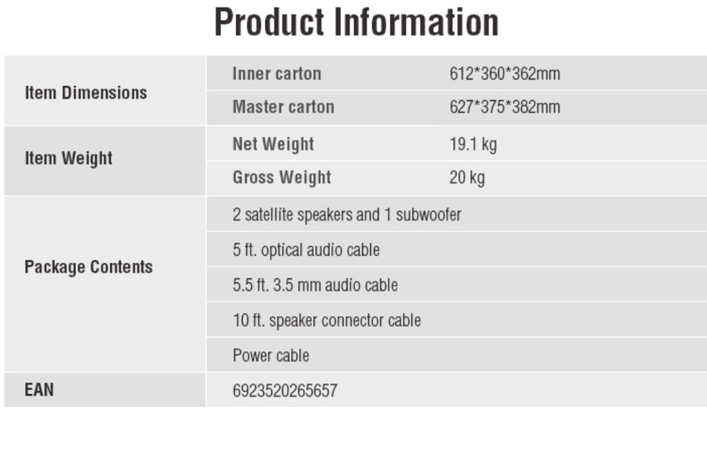 Thông tin sản phẩm