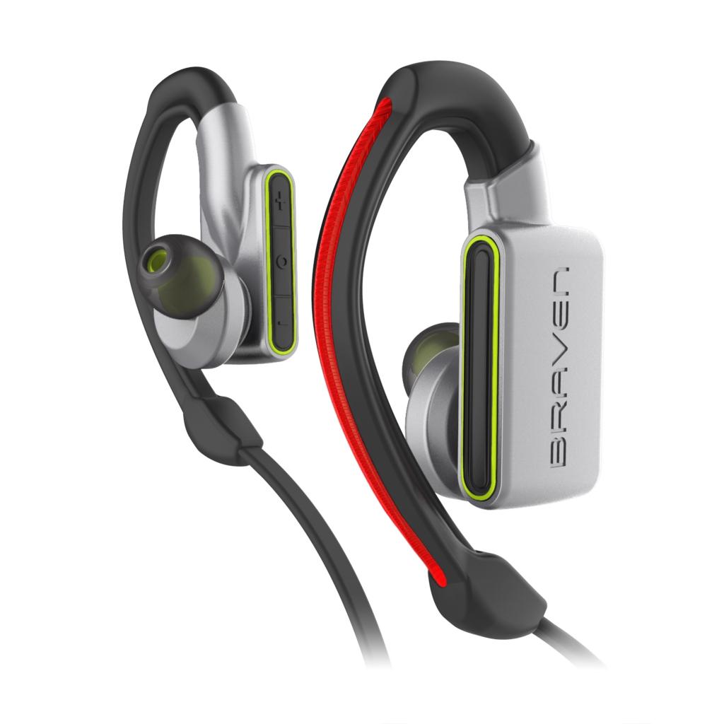 resize_BRAVEN FLYE SPORT Power Earbuds_Details_SILVR_GRN