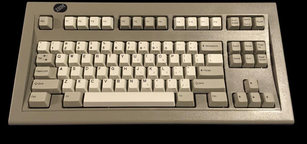 IBM_Model_M_Space_Saving_Keyboard